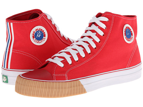 PF Flyers - Center Hi (Red Canvas 2) Lace up casual Shoes