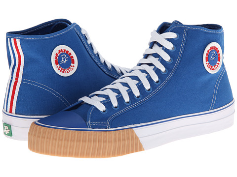 PF Flyers - Center Hi (Blue Canvas) Lace up casual Shoes