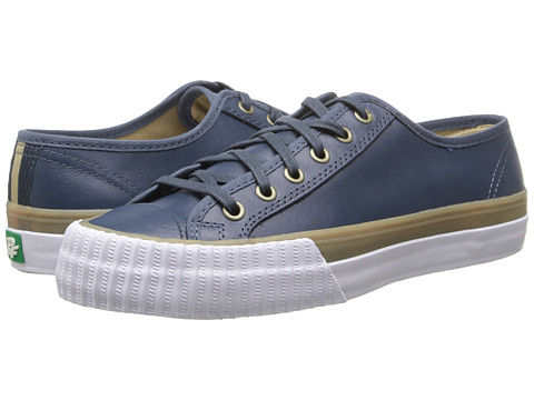 PF Flyers - Center Lo (Blue Leather) Lace up casual Shoes