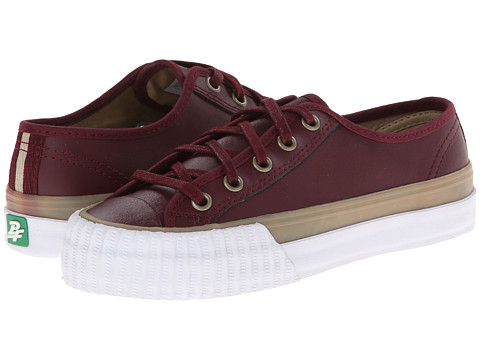 PF Flyers - Center Lo (Oxblood Leather) Lace up casual Shoes