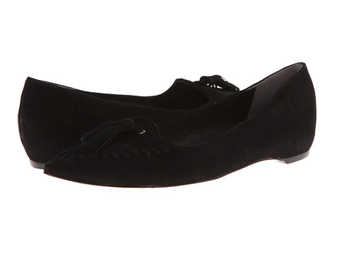 Johnston & Murphy - Tami Tassel (Black Suede) Women's Shoes