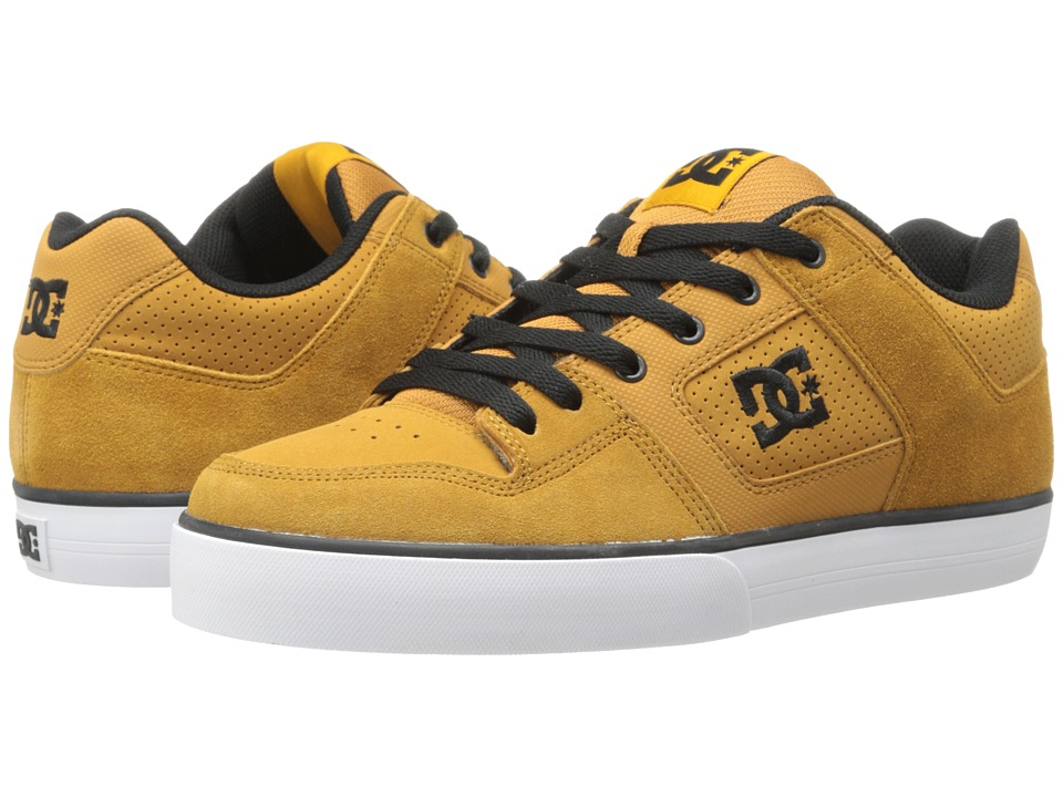 DC - Pure (Wheat/Black) Men's Skate Shoes