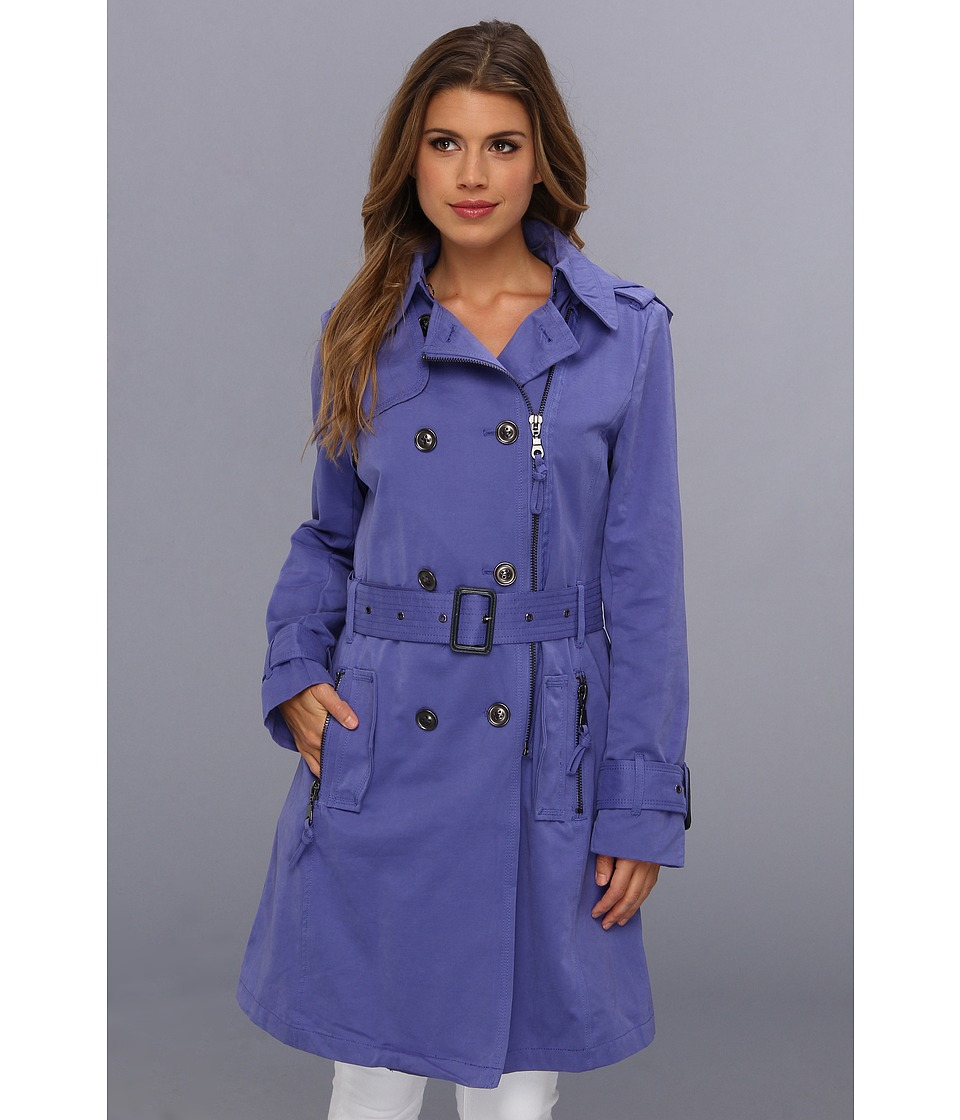 G.E.T. Zipper Trench Women's Coat