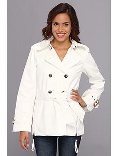 G.E.T. Half Trench (Star White) Women's Coat