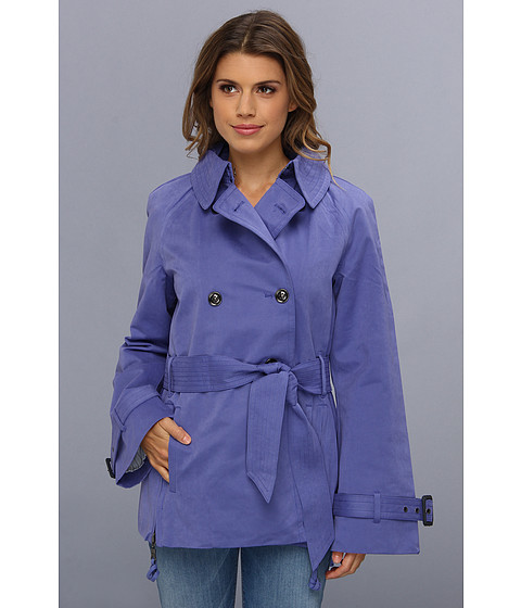 G.E.T. Half Trench (Violet) Women's Coat