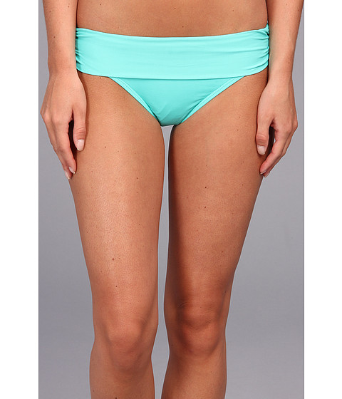 Bleu Rod Beattie - Pacific Coast Shirred Hipster Bottom (Sea Breeze) Women's Swimwear