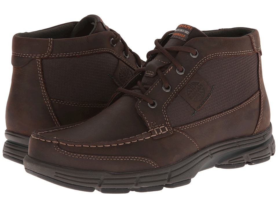 Dunham - REVseek (Brown) Men's Boots