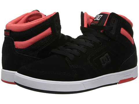 DC - Nyjah High (Black) Women's Skate Shoes