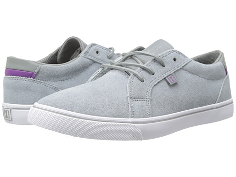 DC - Council (Light Grey) Women's Skate Shoes