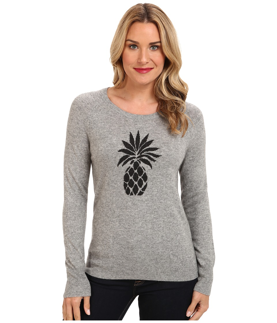 Tommy Bahama - Cadena Pineapple Pullover (Fossil Grey Heather) Women