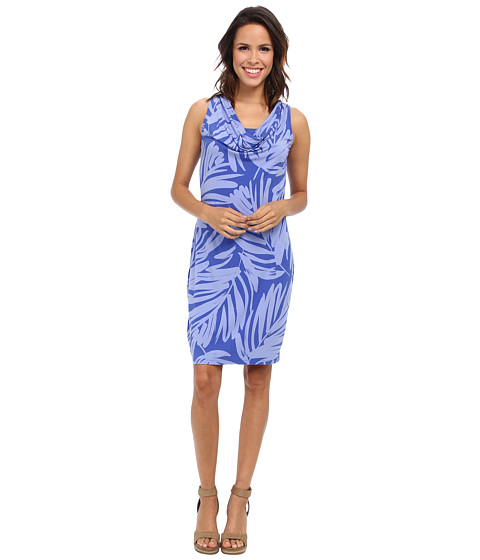 Tommy Bahama - Bella Leaves Dress (Cobalt/Cobalt/Academy) Women's Dress