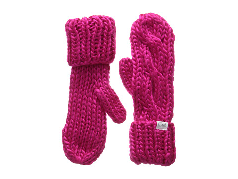 Coal - The Rosa Mitten (Fuchsia) Beanies