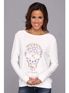 SALE! $54.99 - Save $53 on Peace Love World Oversized Comfy (White) Apparel - 49.08% OFF $108.00