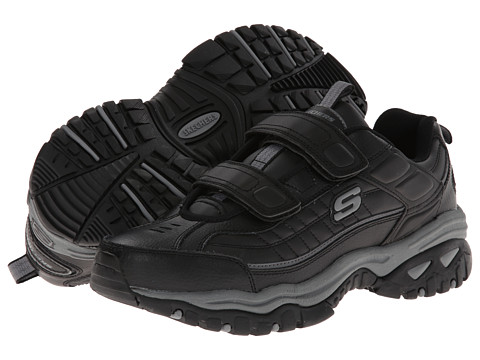 SKECHERS - Energy Fix Up (Black) Men's Shoes