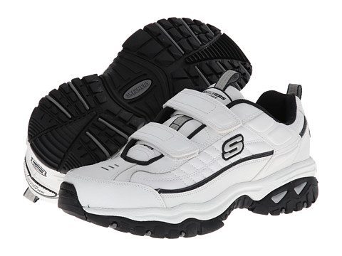 SKECHERS - Energy Fix Up (White) Men's Shoes