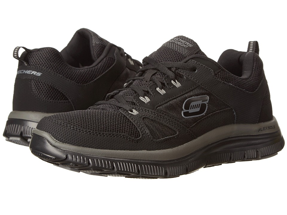 SKECHERS - Flex Advantage Tune In (Black) Men's Running Shoes