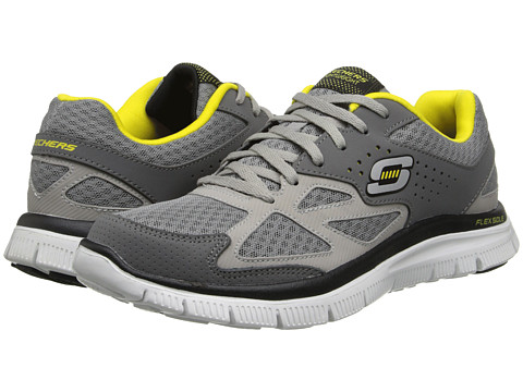 SKECHERS - Flex Advantage Master Plan (Gray) Men