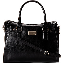 SALE! $42.99 - Save $36 on Franco Sarto Alexa Satchel (Black) Bags and Luggage - 45.58% OFF $79.00