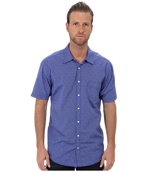 Rodd & Gunn - Trimble S/S Shirt (Oxford Blue) Men