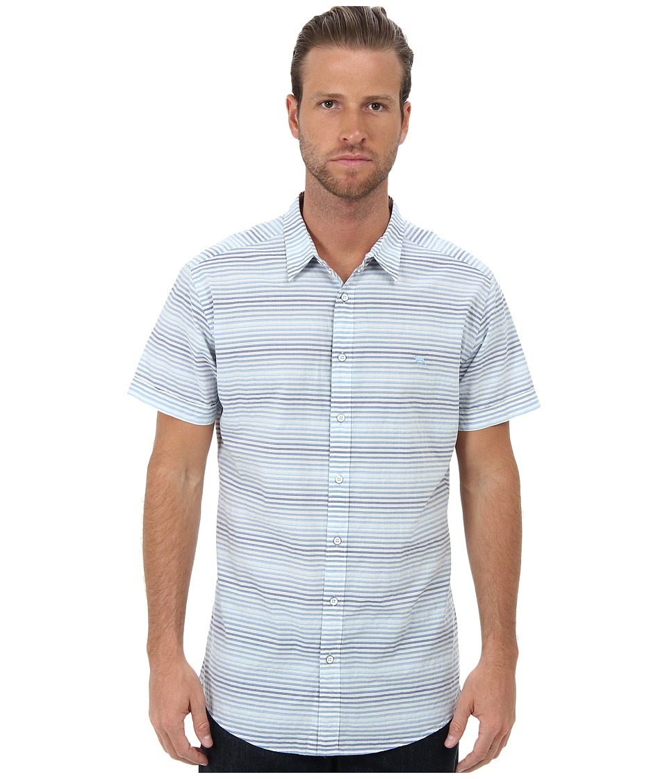 Rodd & Gunn - Brake Avenue S/S Shirt (Seabreeze) Men's Short Sleeve Button Up