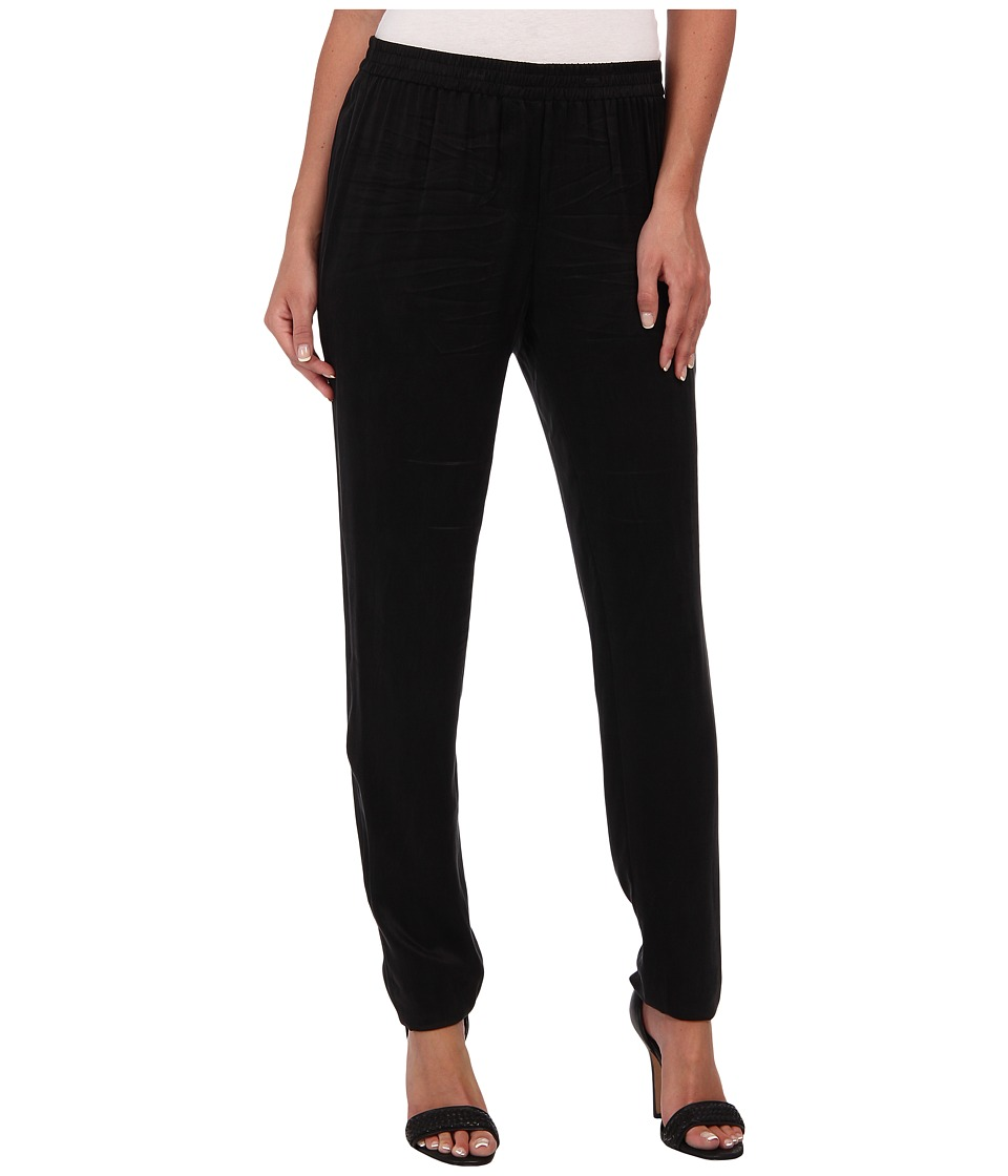 Rebecca Taylor - Lace Inset Pant (Black) Women's Casual Pants