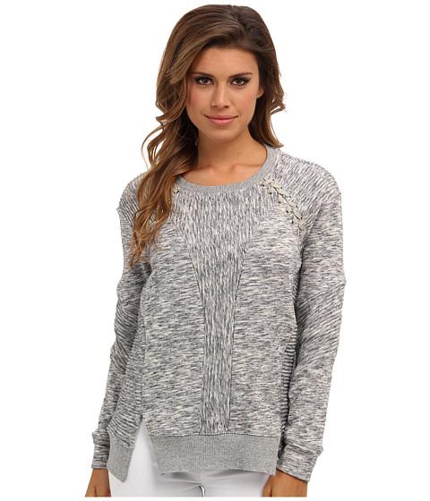 Rebecca Taylor - Ottoman Sweatshirt (Medium Melange Grey) Women