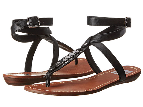 DV by Dolce Vita - Adryna (Black Leather) Women's Sandals