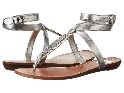 DV by Dolce Vita - Adryna (Silver Leather) Women's Sandals