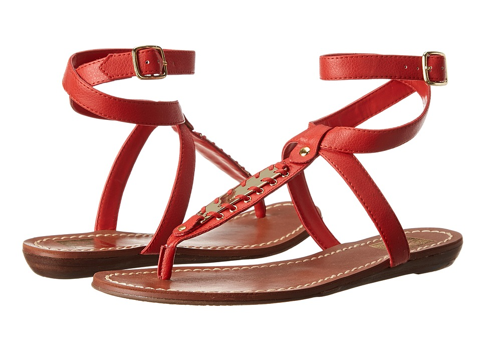 DV by Dolce Vita - Adryna (Poppy Leather) Women's Sandals