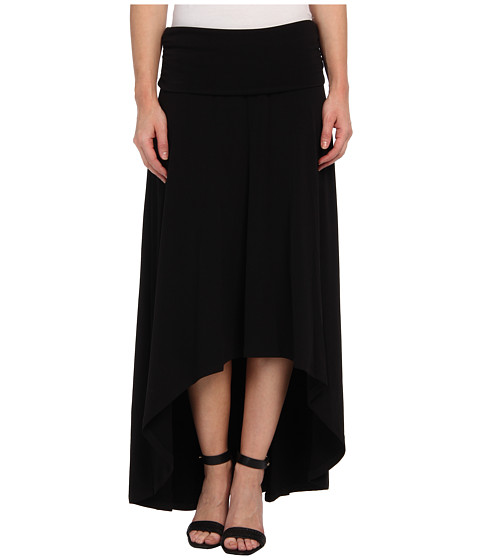 MICHAEL Michael Kors - MJ High Low Hem Skirt (Black) Women
