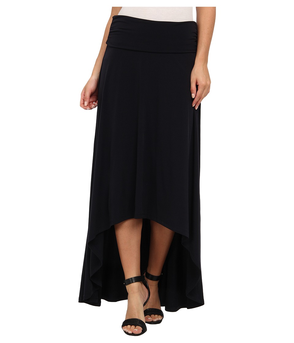 MICHAEL Michael Kors - MJ High Low Hem Skirt (Navy) Women