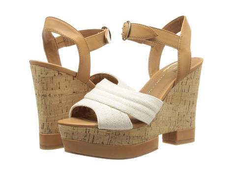 DV by Dolce Vita - Jersey (Bone Canvas) Women's Wedge Shoes