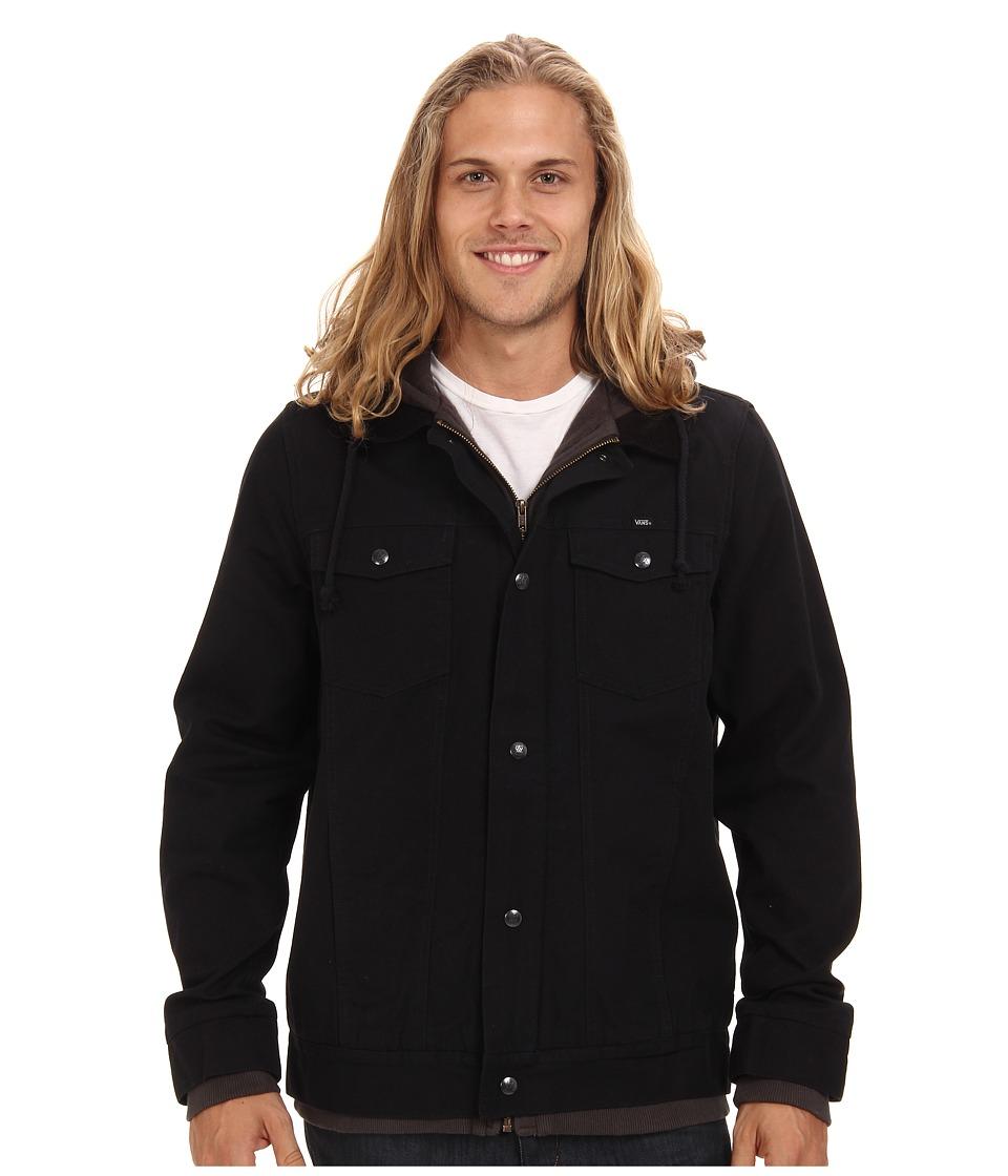 Vans - AV Edict Jacket (Black/New Charcoal) Men's Coat