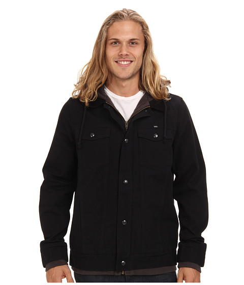 Vans - AV Edict Jacket (Black/New Charcoal) Men's Coat