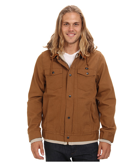 Vans - AV Edict Jacket (Rubber) Men's Coat
