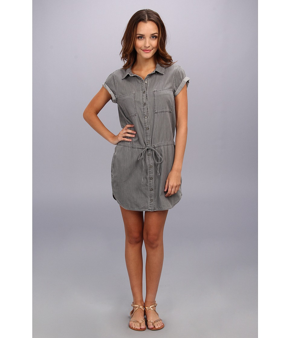 Paige - Mila Shirtdress in Montauk Grey (Montauk Grey) Women's Dress