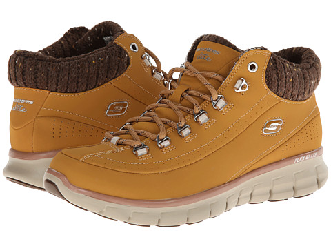SKECHERS - Synergy (Wheat Nubuck) Women