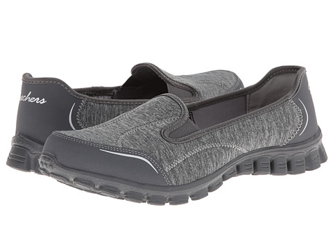 SKECHERS - Encounter (Charcoal) Women's Slip on Shoes