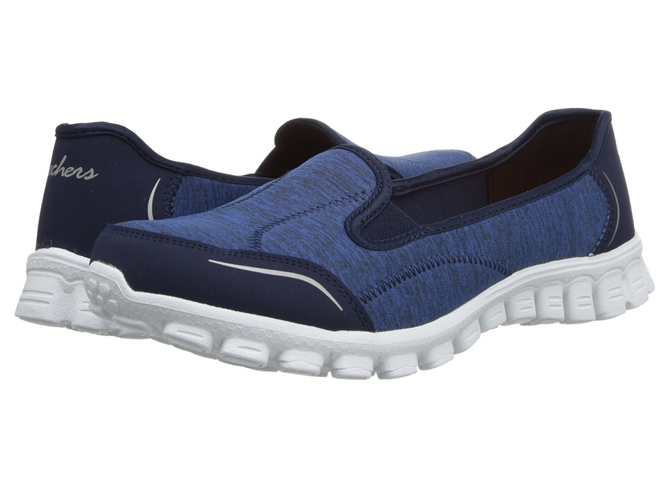 SKECHERS - Encounter (Navy) Women's Slip on Shoes