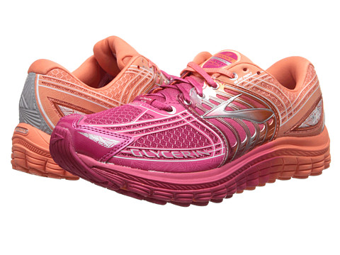 Brooks - Glycerin 12 (Ombre/Bright Rose/Papaya) Women