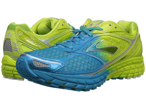 Brooks - Ghost 7 (Ombre/Lime Punch/Hawaiian Ocean) Women's Running Shoes