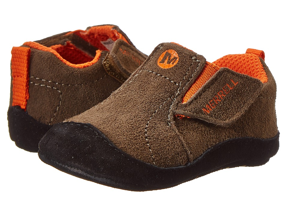 Merrell Kids - Jungle Moc Baby (Infant/Toddler) (Gunsmoke) Boy's Shoes