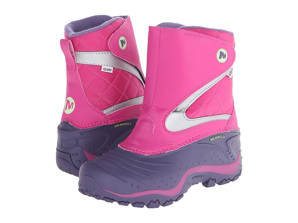 Merrell Kids Snowbound Waterproof (Big Kid) (Purple/Pink) Girls Shoes