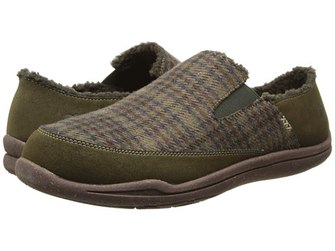 Acorn - WearAbout Moc with FirmCore (Moss) Men's Shoes