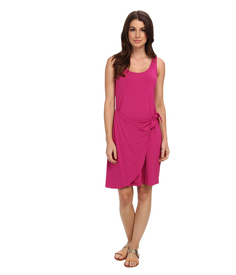 Tommy Bahama - Tambour Faux Wrap Tie Dress (Festival) Women's Dress