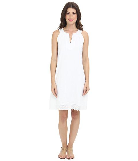 Tommy Bahama - Flower Eyelet Dress (White) Women's Dress