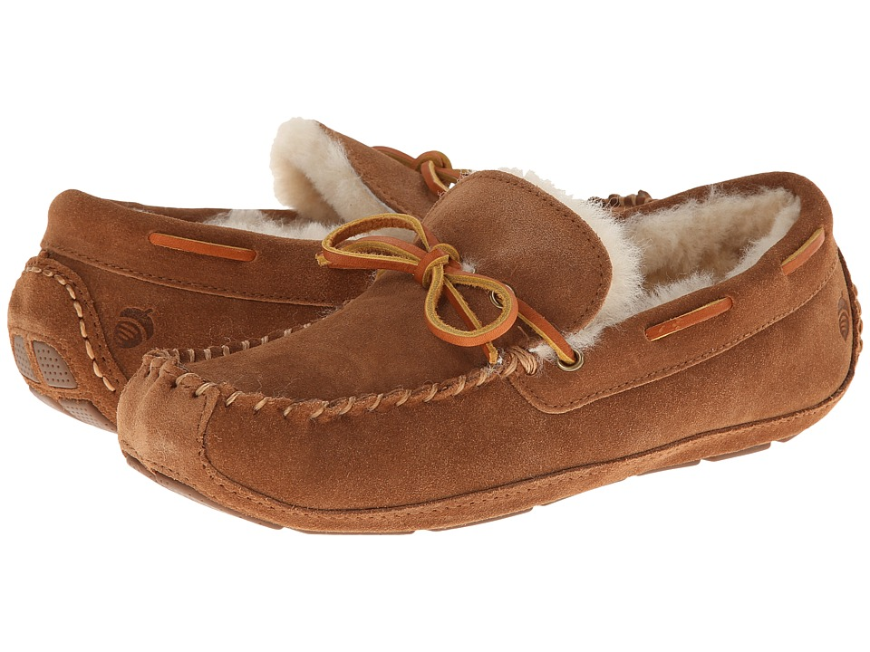 Acorn - Sheepskin Moxie Moc (Chestnut) Men's Slippers