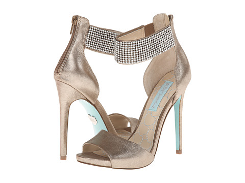 Blue by Betsey Johnson - Unite (Silver Metallic) High Heels