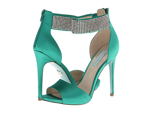 Blue by Betsey Johnson - Unite (Green Fabric) High Heels