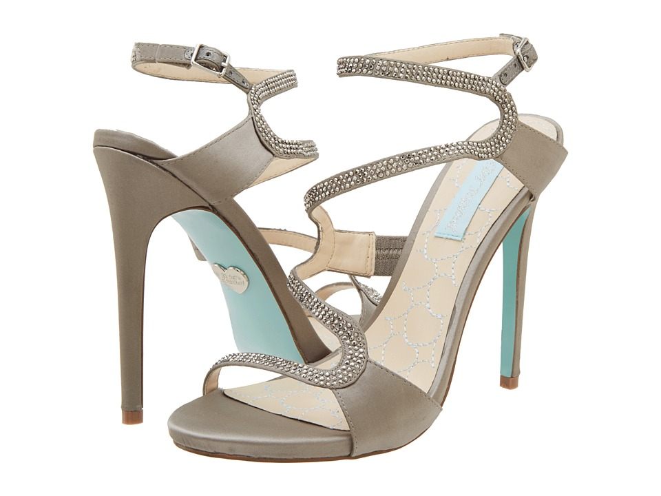 Blue by Betsey Johnson - Gift (Grey Satin) High Heels